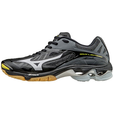 Mizuno Men's Wave Lightning Z2 - Black/Silver