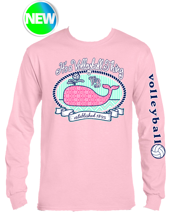 VB Whale LS- Pink