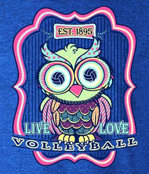 VB Owl LS T-Shirt- Full Front Design
