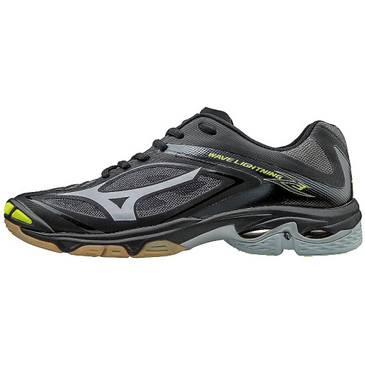 Mizuno Men's Wave Lightning Z3 - Black/Silver
