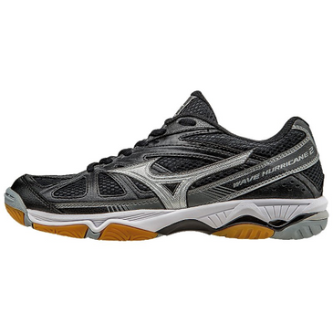 Mizuno Women's Wave Hurricane 2 - Black/Silver