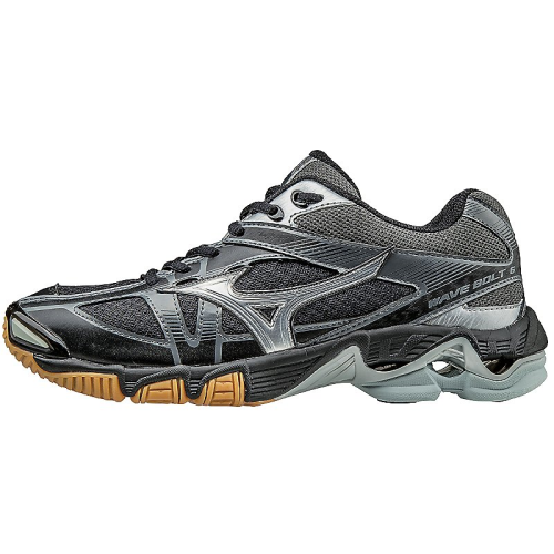 Mizuno Women's Wave Bolt 6 - Black/Silver