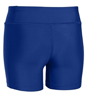 SPVB Girl's Spandex Short- Back