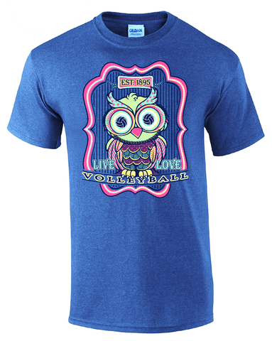 Volleyball Owl- Heather Royal