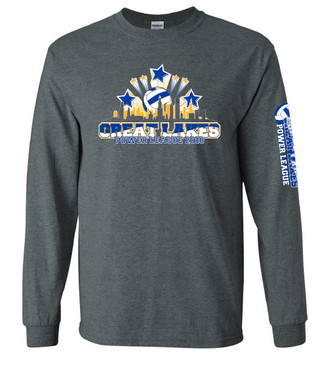 2018 Great Lakes Power League LS T-Shirt- Front