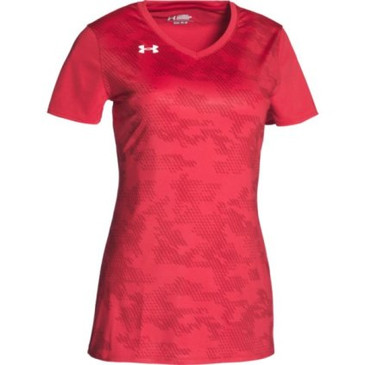 UA Ultimate Spike SS Jersey- Red