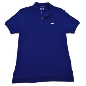 Men's Classic Boat Tie Polo Shirt - Navy Blue