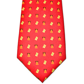 Bell of Rights Tie - Red