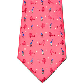 Sea to Shining Sea Tie - Washed Red
