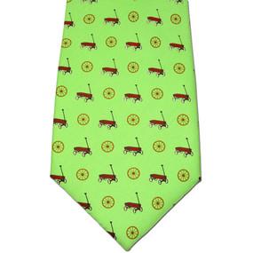 Wagon Wheel Tie - Green