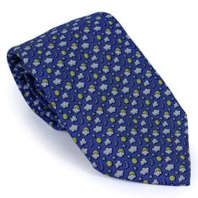 Vineyard Vines Sun & Moon Neck Tie - Navy Blue