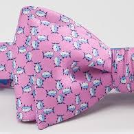 Southern Tide Skipjack Bow Tie - Pink & Blue