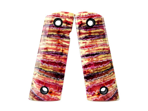 Mammoth Tooth Grips Pink/Yellow   Guncrafter Industries