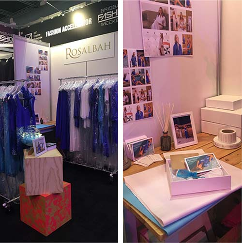 The Rosalbah Stand at the Brisbane Fashion Weekend 2016