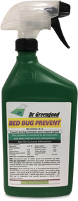 Dr Greengood Commercial Bed Bug Preventative 1 Qt Bottle (Ready to use)