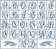Elaborate Alphabet Small
