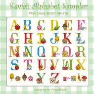 Kawaii Cute Alphabet Sampler
