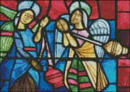 Church Window: Burgbrohl Angels