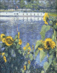 Sunflowers in the Banks of Seine