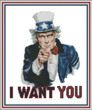 Patriotic: I Want You
