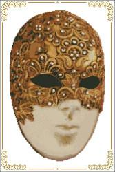 Carnival Masks - 005 Swirl Left