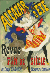 Alcazar d'Ete French Poster