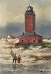 Red Brick Lighthouse