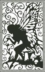 Fairy Silhouette Fantasy 003
