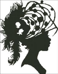 Ladies Hat Silhouette 008