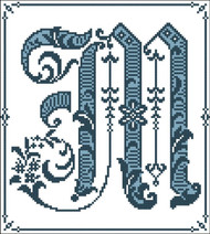 Gothic Alphabet M