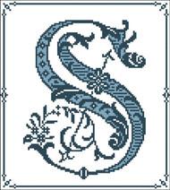 Gothic Alphabet S