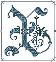 Gothic Alphabet X