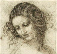 Study for Head of Leda