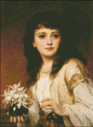 Portrait of a Girl by Dicksee