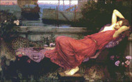 Ariadne Lady in Red