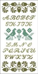 Alphabet Sampler Acorns