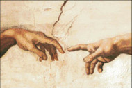 Creation of Man (Detail)