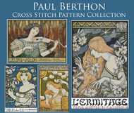 Paul Berthon Cross Stitch Pattern Collection