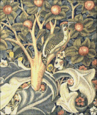 Woodpecker Tapestry (Detail)