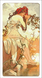 Summer by Mucha