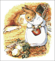 Mrs. Rabbit Cooks Dinner Peter Rabbit