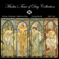 Mucha's Time of Day Cross Stitch Collection
