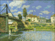 Bridge at Villenueve-la-Garenne