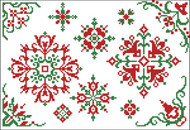 Christmas Motifs & Borders