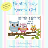 Hooties Baby Record Girl