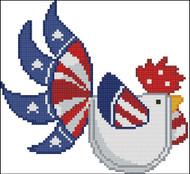 Patriotic Rooster 005