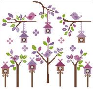 Petite Birds Lavender