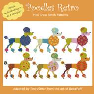 Poodles Retro