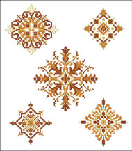 Geometric Medallions Autumn