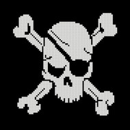 Pirate Symbol - Skull and Cross Bones